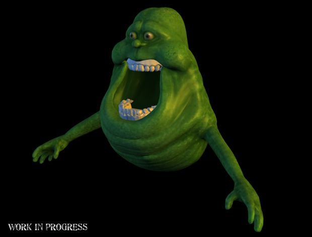 Slimer Teeth