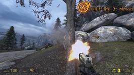 Half-Life 2 : MMod - Pistol Muzzleflash&Wood HitFX