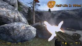 Half-Life 2 : MMod - SMG Muzzleflash&Rock Impact