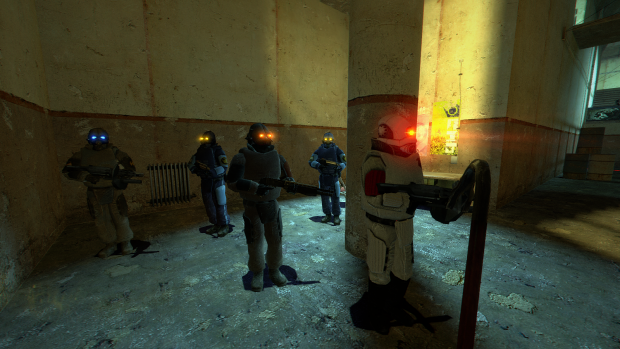 Half-Life 2 MMod : Glowy Combine Eyes