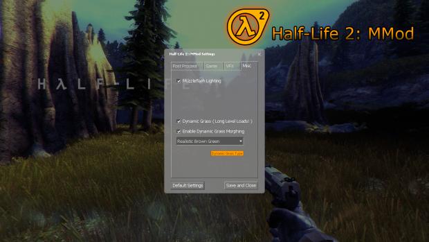 Half-Life 2 : MMod - MMod menu redesign and recode