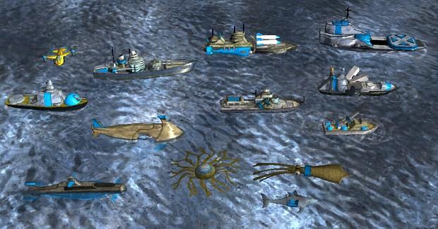 All Battle Unit of NavySystem