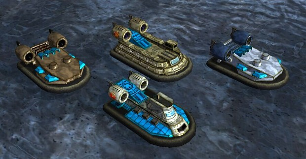 All Landing Crafts ready for combat