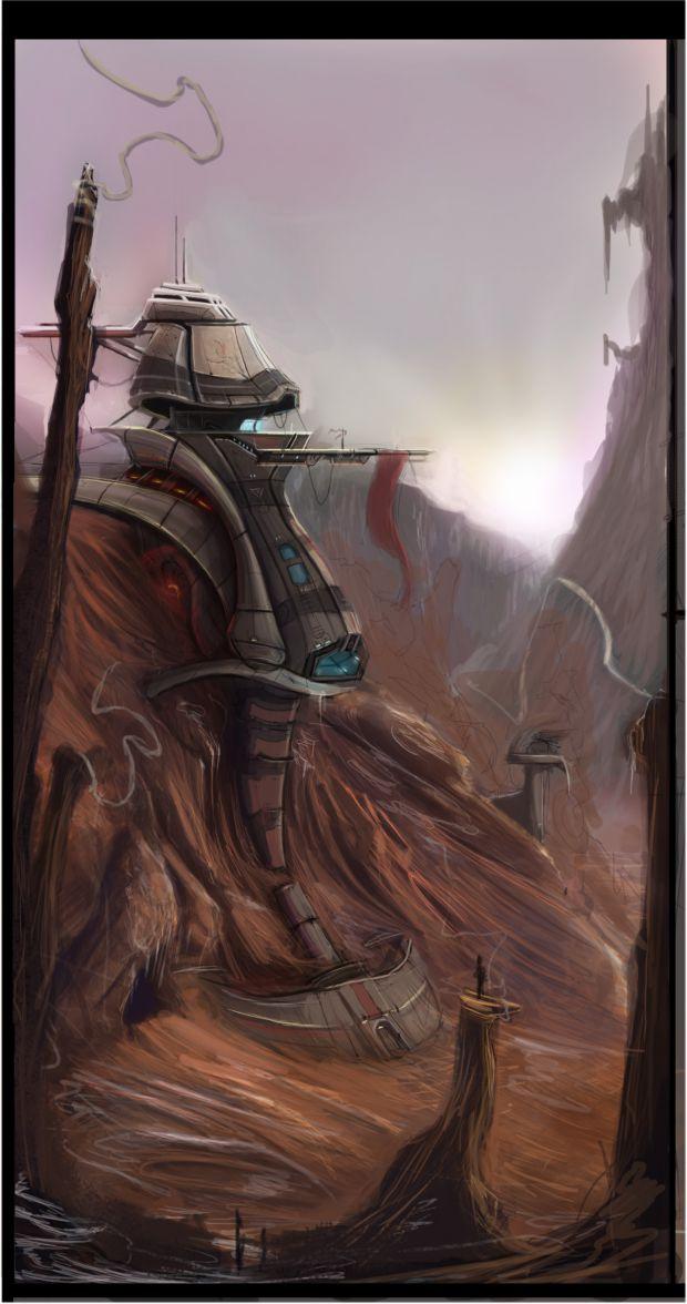 Desert Base Concept