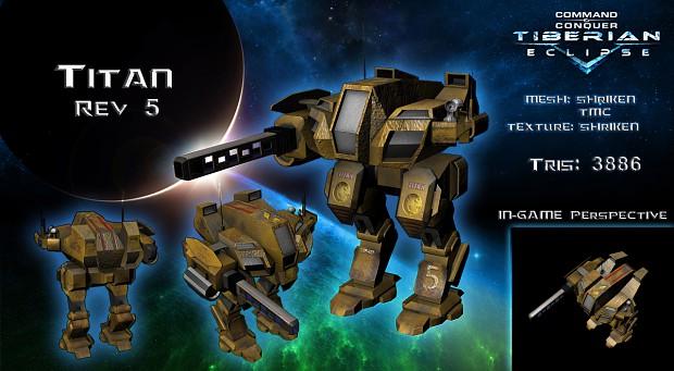 Textured Titan