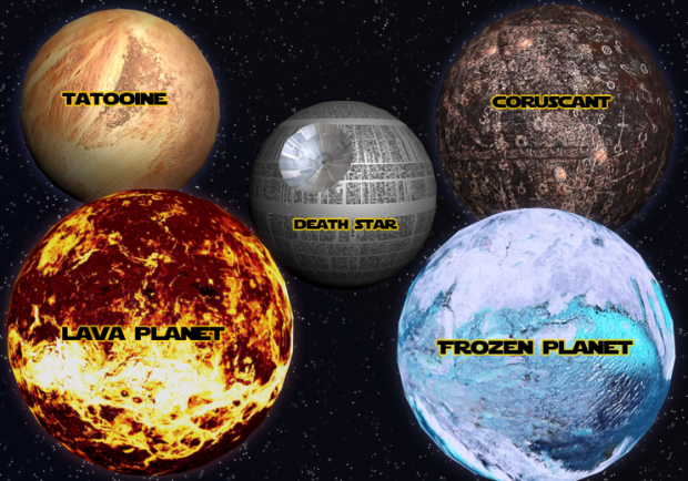 New Planets & Death Star...
