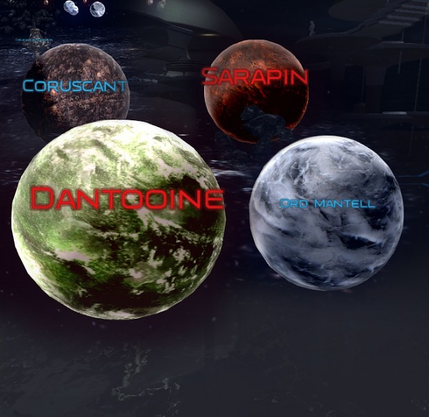 New Shaders for planets and water...