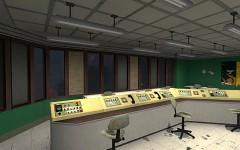 Dam control room