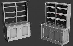 Office BookCase WIP