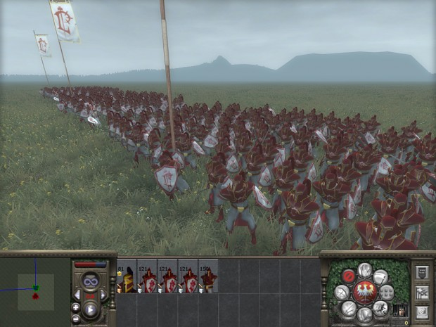 At war with the scarlet crusade