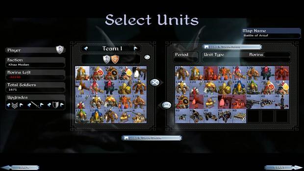 Khaz'Modan Final Roster for next version of Warcraft Total War!