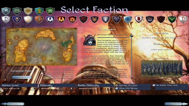 Unplayable Forsaken faction - could be playable easily!