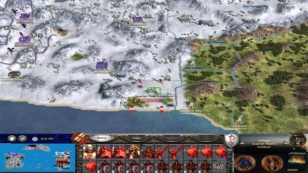 Scarlet Crusade Strat-Map.