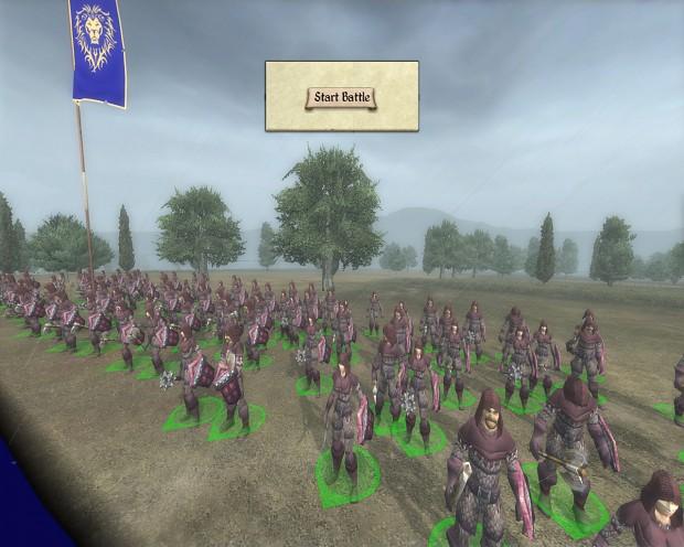 New Stormwind Nights Watch Militia unit!
