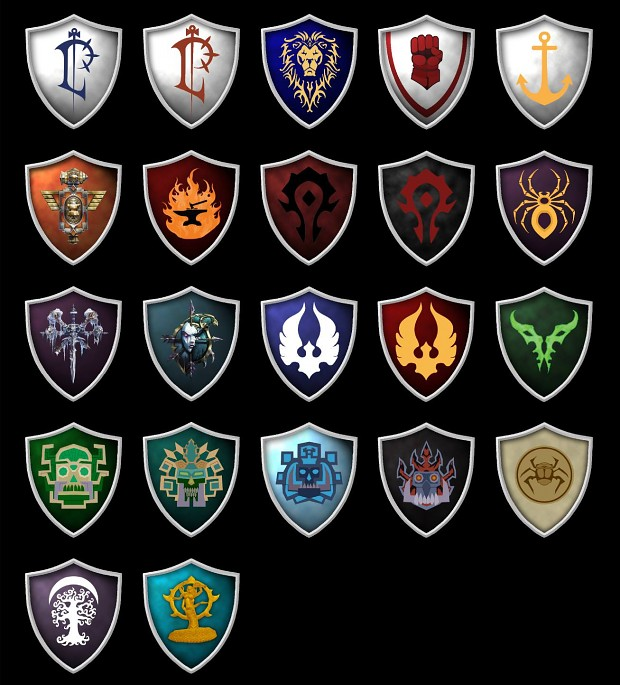 New updated Faction Symbols.