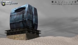 New depot model + sky test