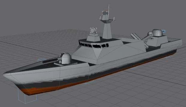 PKX Hydrofoil 3D