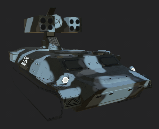 SA-13 Gopher Render