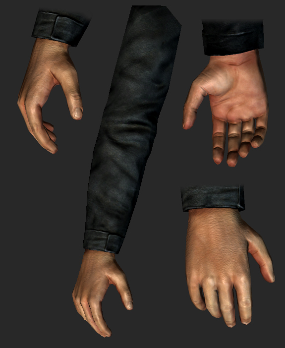 player hands