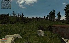 Massively increased grass draw distance
