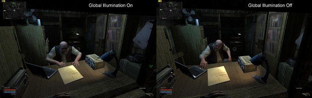 Global Illumination Comparison
