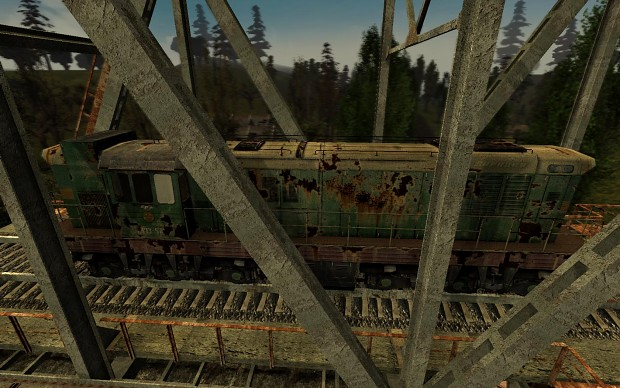 Reworked train & carriage textures