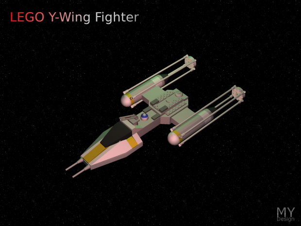 LEGO Y-Wing Fighter