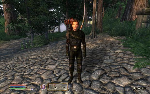 Test of New HunterBow and HunterArmor