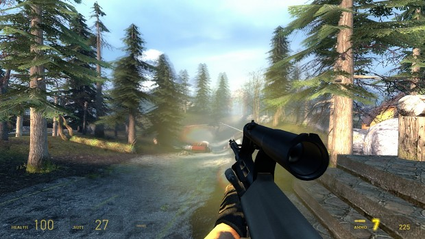 Muzzle flash blur