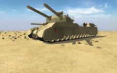 Super Heavy tank P.1000 Ratte
