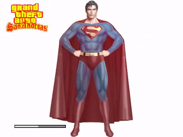 Evil Superman from Superman III
