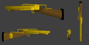 Rifle 4-sides retextured