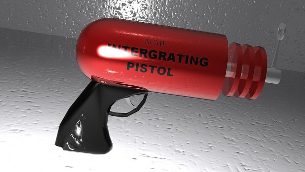 INTEGRATING PISTOL textured render
