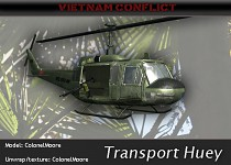 UH1 Iroquois Transport