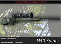 M40 Sniper Rifle