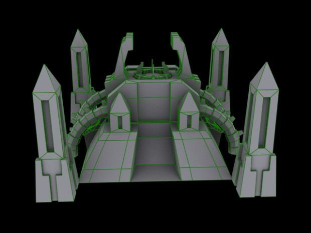 necron tomb forge (hq building)