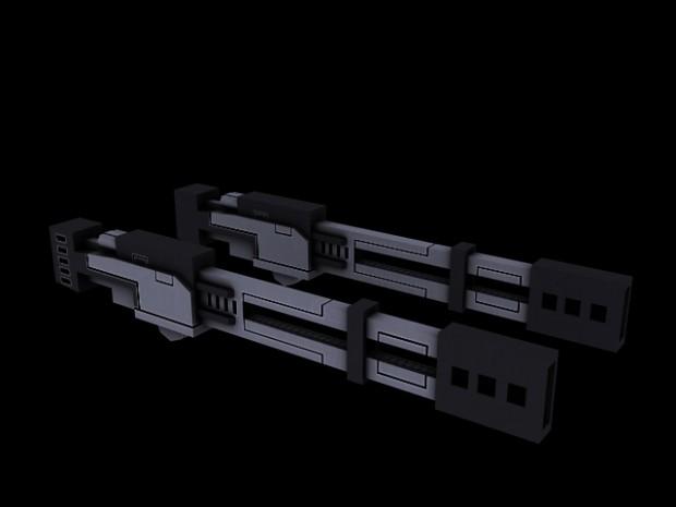 Broadside railguns