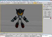WIP Mecha Sonic Model
