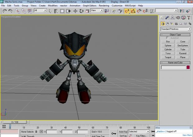 wip mecha sonic model image world of an absolution mod