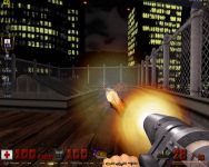 HRP rocket muzzle flash