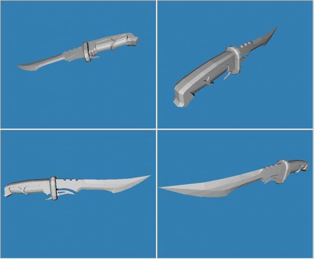 ShamuQuest model renders