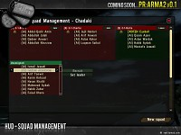 HUD - Squad Management