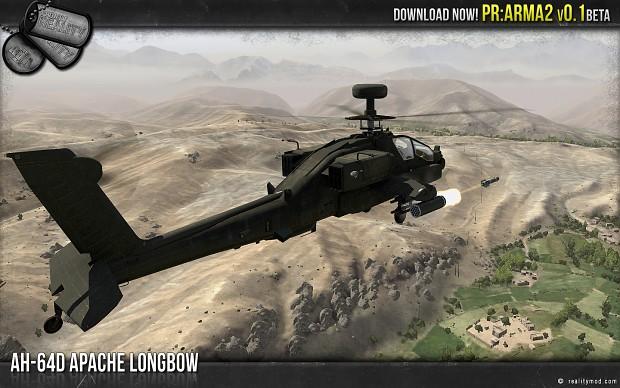 AH64D Apache Longbow
