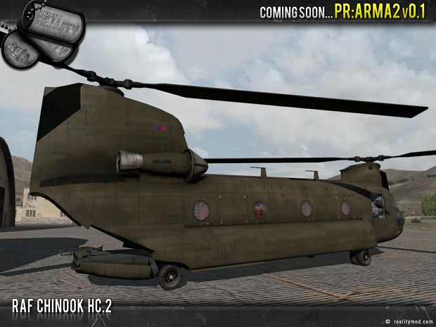 RAF Chinook HC-2