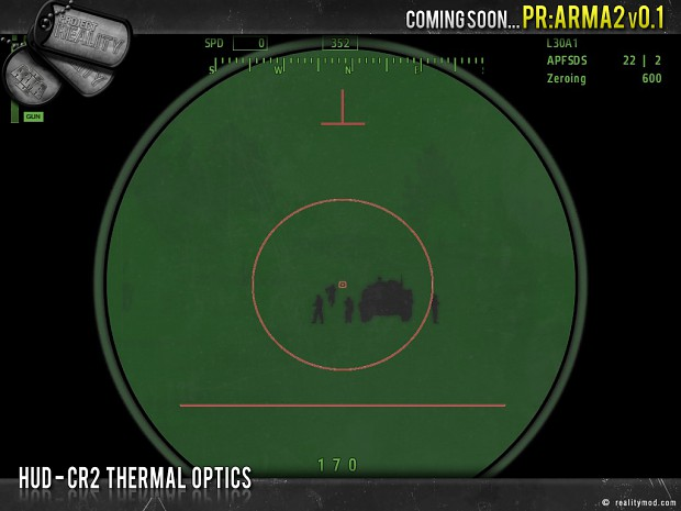 HUD - CR2 Thermal Optics