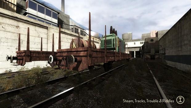 Trainyard Wagons