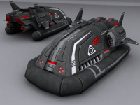 Nod Amphibious Transporter revamped