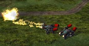 NOD Flamethrower Tank