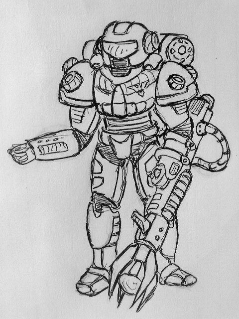 Allies Chrono Legionnaire Concept