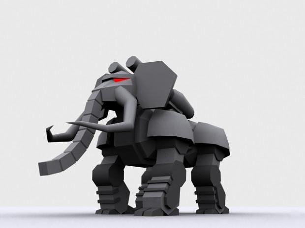 Soviet War Mammoth Model W.I.P.